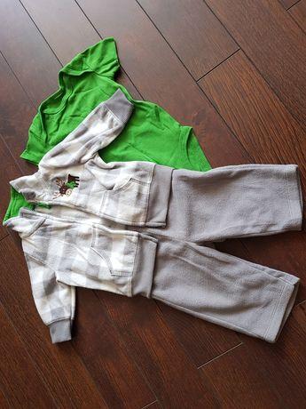 Флисовый костюм Carters 0-3