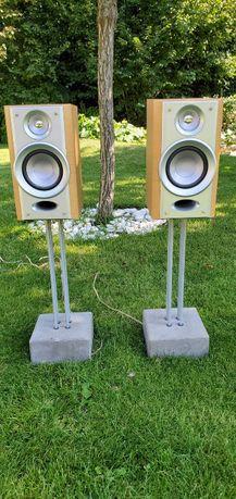 Salonowe kolumny głośnikowe 40 W - z betonowymi podstawkami
