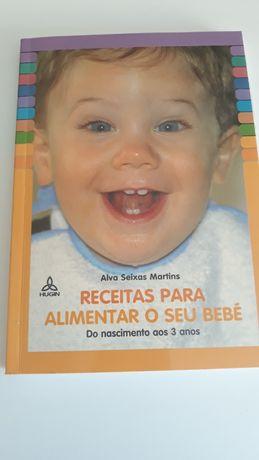 Receitas para Alimentar o seu Bebé, de Alva Seixas Martins