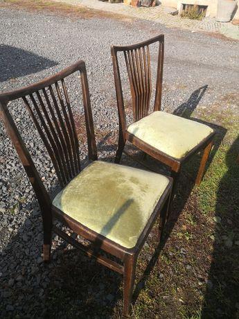 Krzesła 2szt retro wysyłka