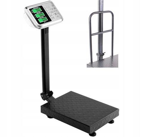 WAGA  100 kg 150kg 200kg 300kgSKLEPOWA MAGAZYNOWA Elektryczna LCD