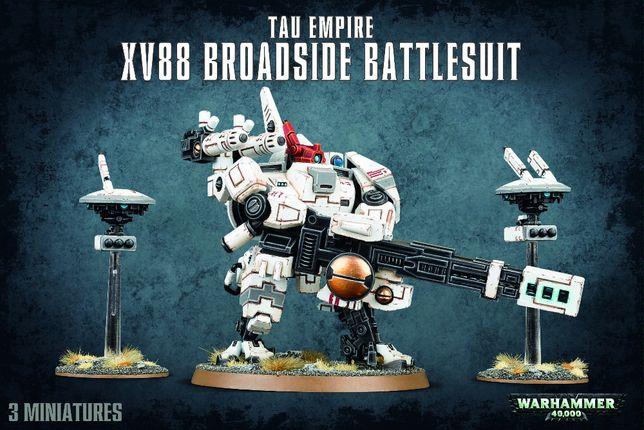 Tau Empire XV88 Broadside Battlesuit Warhammer 40 000