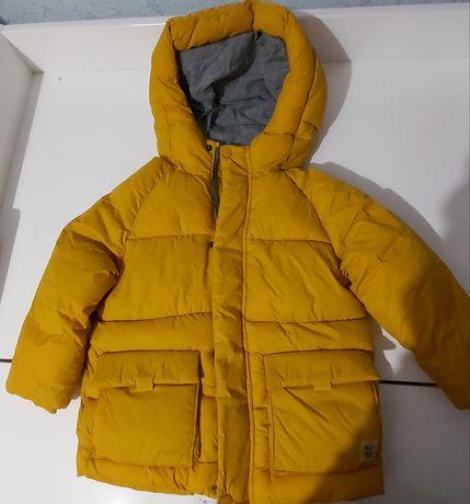 Детская зимняя куртка ЗАРА на мальчика