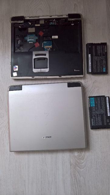 Toshiba tecra S1 + kadłubek + stacja dokująca