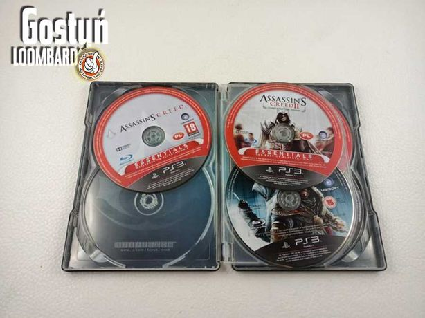 od Loombard Gostyń Gra PS3 Assassin's CREED ANTHOLOGY