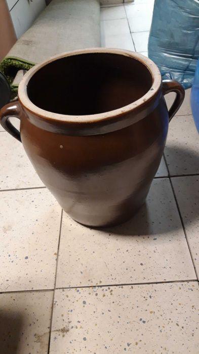 Duze naczynie na ogórki prl Sławniów - image 1