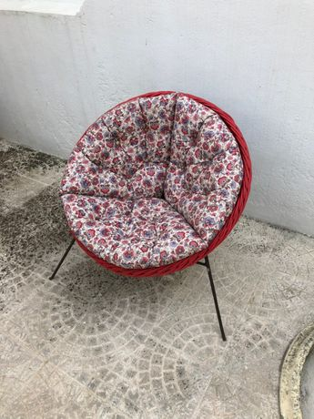 Cadeira/Cadeirão para jardim em verga