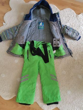 Kurtka narciarska zimowa spodnie narciarskie 110 CoolClub