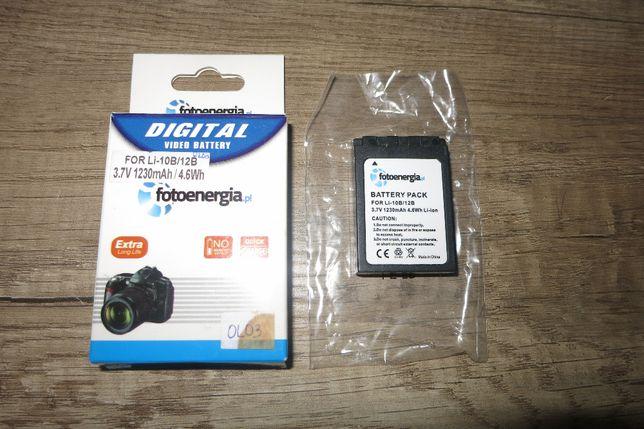 Bateria LI-12B do aparatu Olympus 3.7V 1230mAh Li-ion