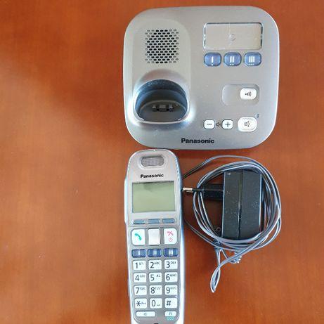 Telefon stacjonarny ,cyfrowy, bezszumowy Panasonic KX-TG6571PD