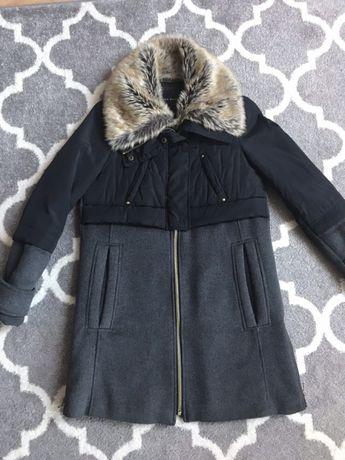 ZARA r.S płaszcz kurtka zima