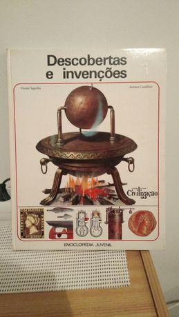 """Livro """"Descobertas e Invenções"""""""