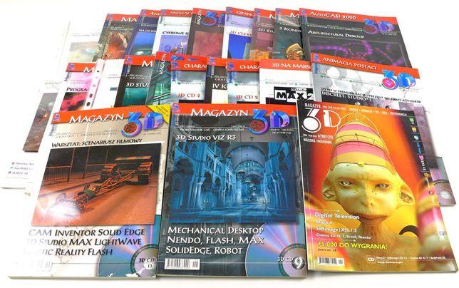 Magazyn 3D ponad 20 numerów + płyty CD