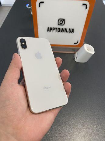 Iphone X 64GB Silver Гарантия/Магазин/Neverlock/Рассрочка