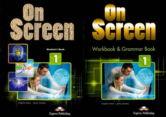 On Screen 1 комплект: Student's Book + Workbook + CD