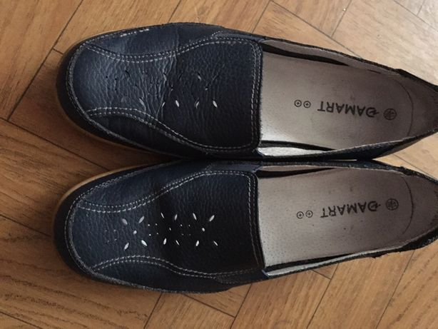 Туфли мокасины damart.