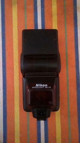 Nikon SB24 - Avariado para peças