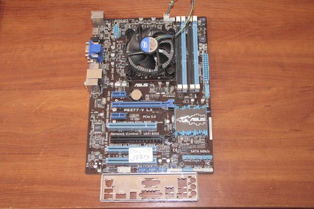 "Intel Core i7-3770 3.4GHz BOX + Asus ""P8Z77-V LX"" Intel Z77"