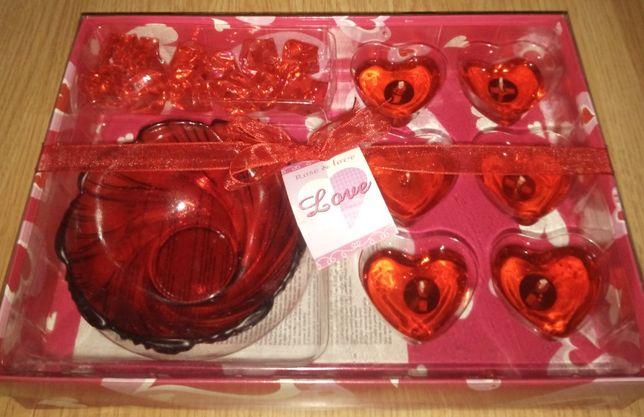 Романтический набор свечи сердце