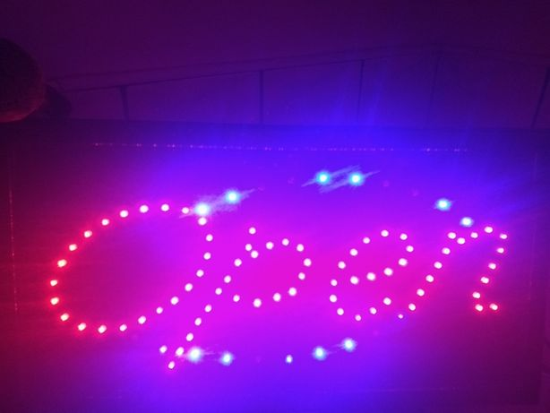 Neon reklama Open
