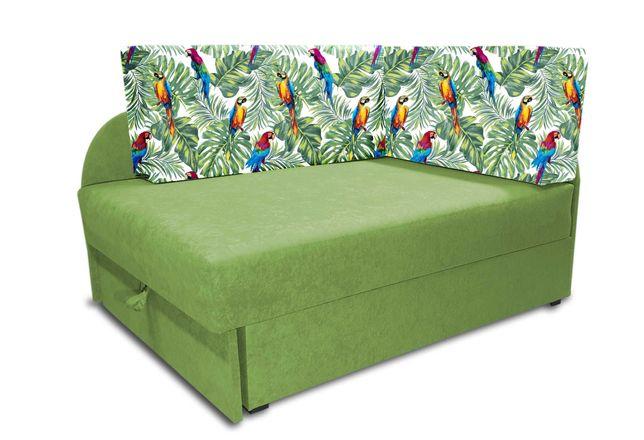 Narożnik dla dziecka, łóżko KUBUŚ, rozkładana sofa dziecięca