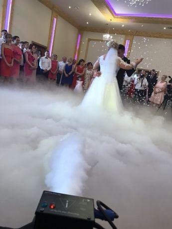 Ciężki dym, pierwszy taniec w chmurach, wytwornica cięzkiego dymu