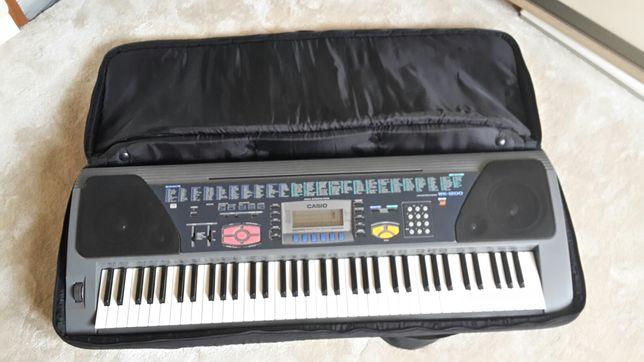 Keyboard syntezator Casio + stojak i futerał