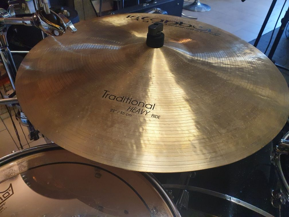 """Istanbul agop traditional heavy ride 22"""""""
