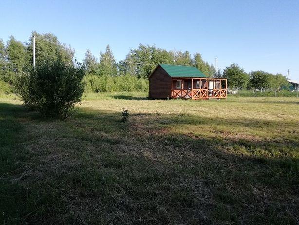 Продам НОВУЮ дачу с домиком из дерева+террасой возле реки Десна
