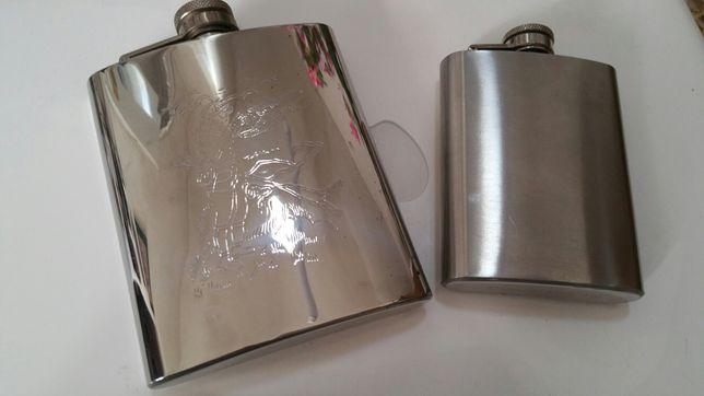 2 cantil,flask aço inox 4 e 7 onças .