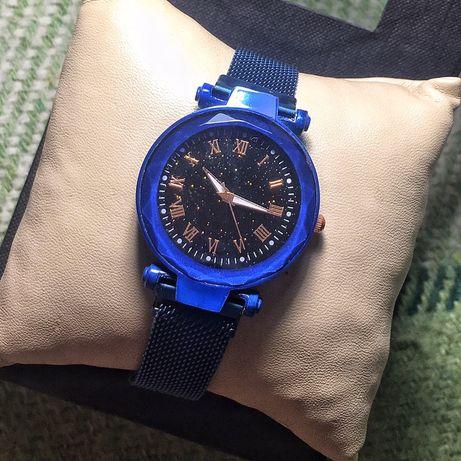 Жіночий наручний годинник/Женские наручные металлические часы на магни