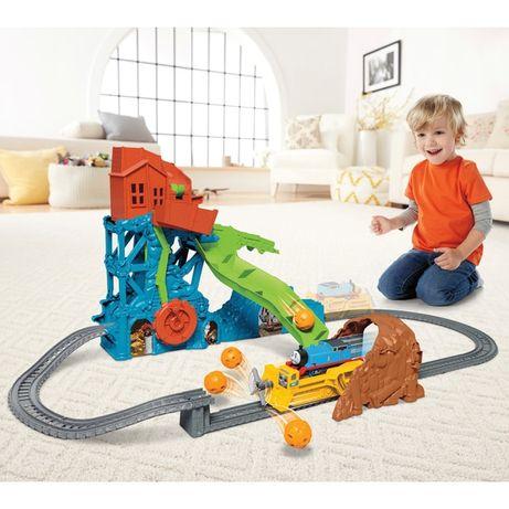 Железная дорога, игровой набор паровоз Томас и друзья Обвал в пещере
