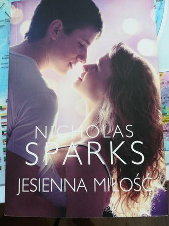 "Nicholas Sparks ""Jesienna miłość"""