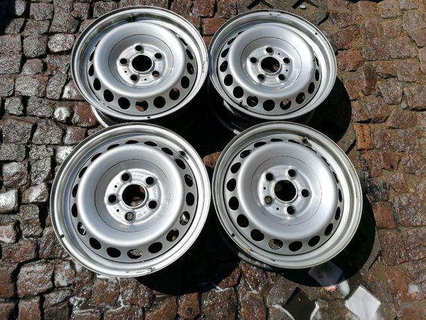 """Oryginalne felgi stalowe wzmacniane VW CARFTER II 16"""" 5x120x65 T5 T6"""
