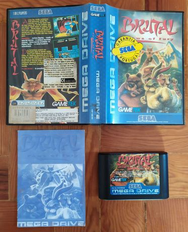 Brutal: Paws Of Fury - Sega Mega Drive