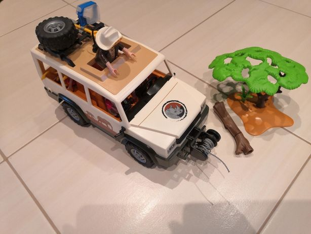 Playmobil jeep safarii