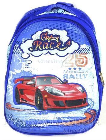 Рюкзак школьный, ранец для мальчиков каркасный ортопедический