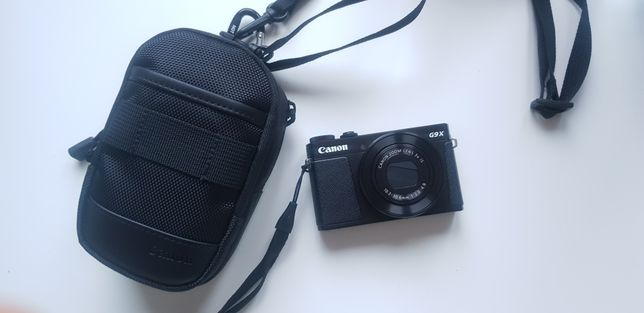 Aparat Powershot G9 X Mark II Canon + dodatki