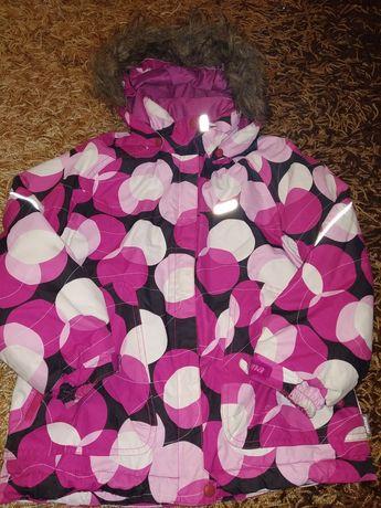 Костюм набор зимняя термо куртка и двое штанов Reima 166-122 р 6-7