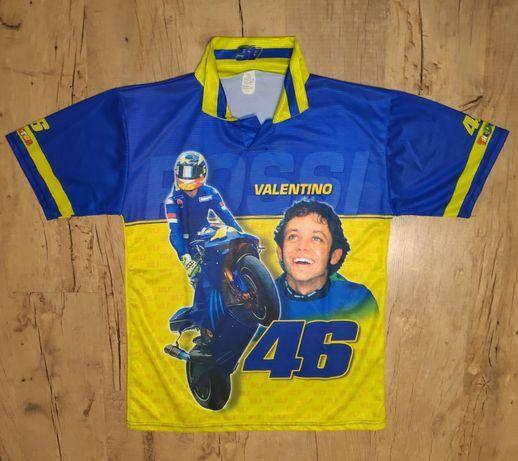 Футболка чемпиона мира мотогонщика Valentino Rossi (Made in Italy)