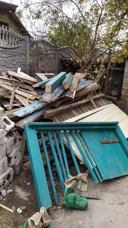 Продам дрова снял крышу дома