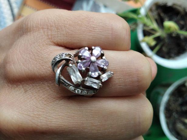 Кольцо серебро 925 цена уже со скидкой