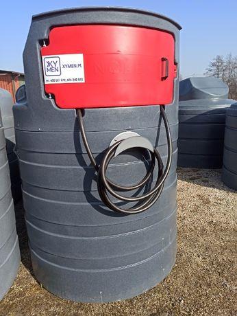 Zbiornik na paliwo ropę ON dwupłaszczowy 1500l