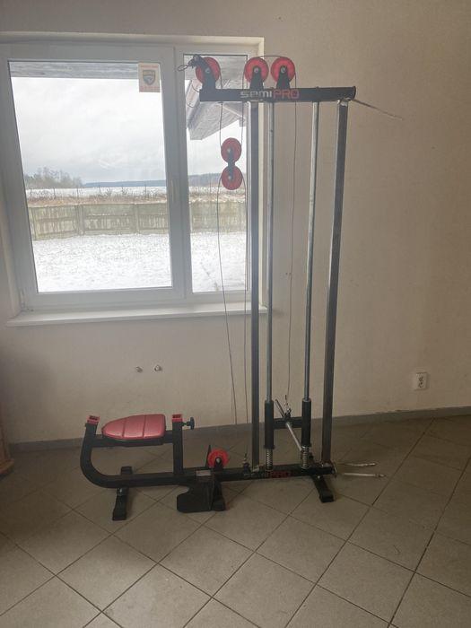 Wyciąg górny i dolny siłownia maszyna na plecy Szczecin - image 1