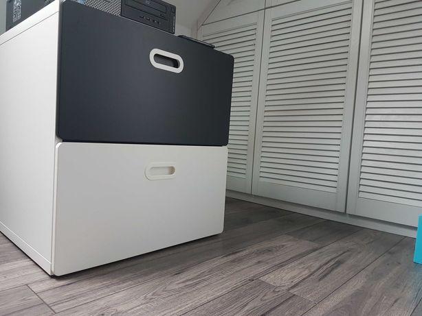 Komoda Ikea biało czarna
