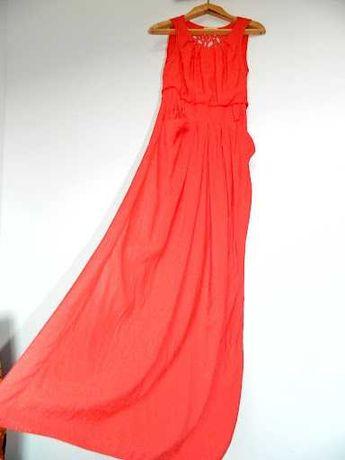 Платье нарядное макси с ажурной спинкой Вечірня сукня