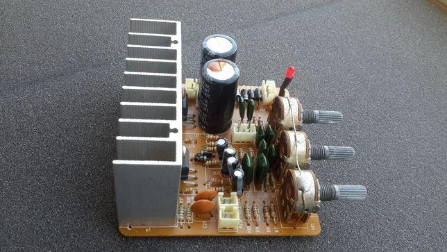 Плата усилителя мощности Sven AF-11-1-A, микросхема TDA 2030A.