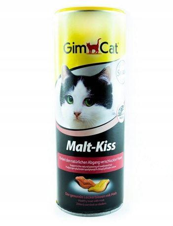 GimCat MALT KISS przysmak Odkłaczający 340 sztuk zostało z 600szt