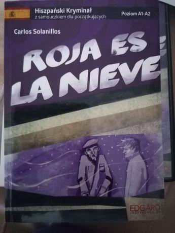 Kurs języka hiszpańskiego w formie kryminalu z CD