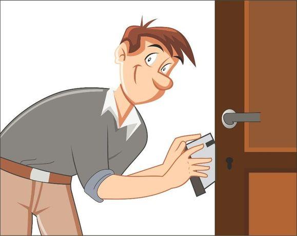 Врезка,замена,ремонт замка,установка входных и межкомнатных дверей